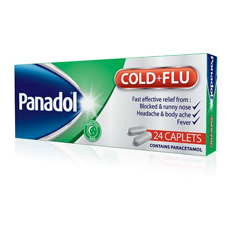 Paracetamol cold and flu