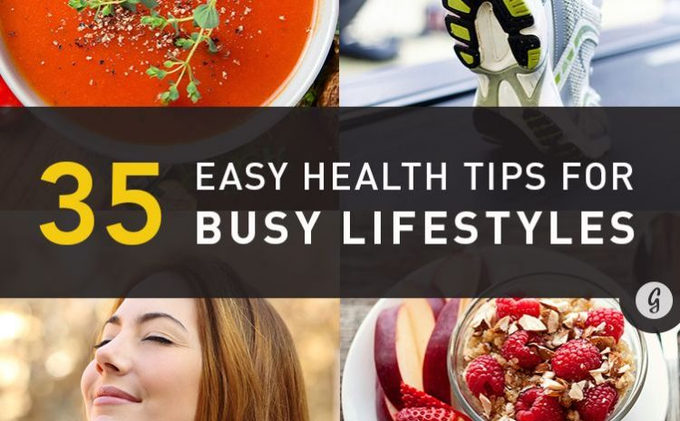 35 health tips