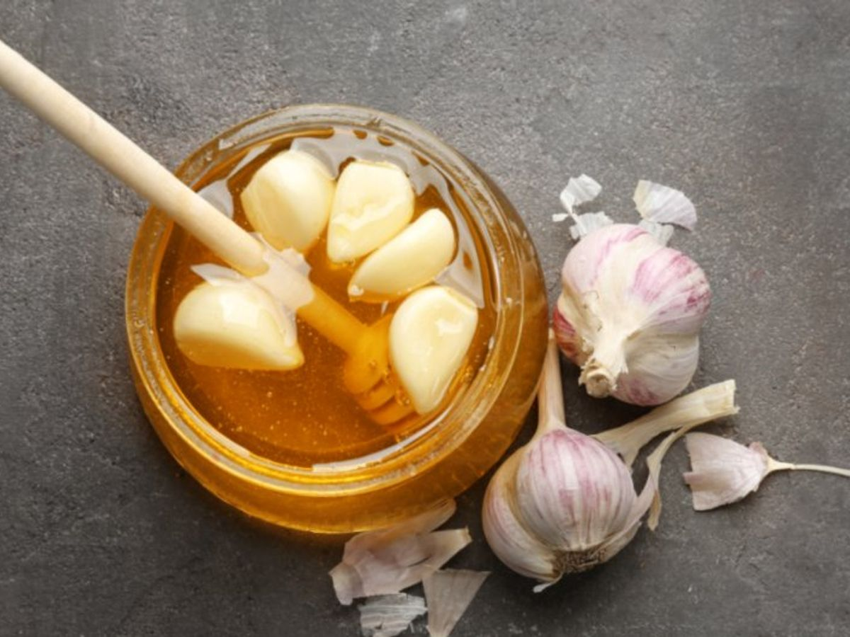 Wonderful tip of melting waste fat from garlic and honey