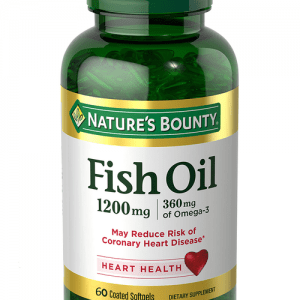 Nature's Bounty Fish Oil 1200mg Plus Omega 3 (60 Softgels)