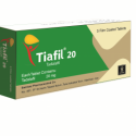 Tiafil Tablet Price In Pakistan – Generic Cialis 20mg Original