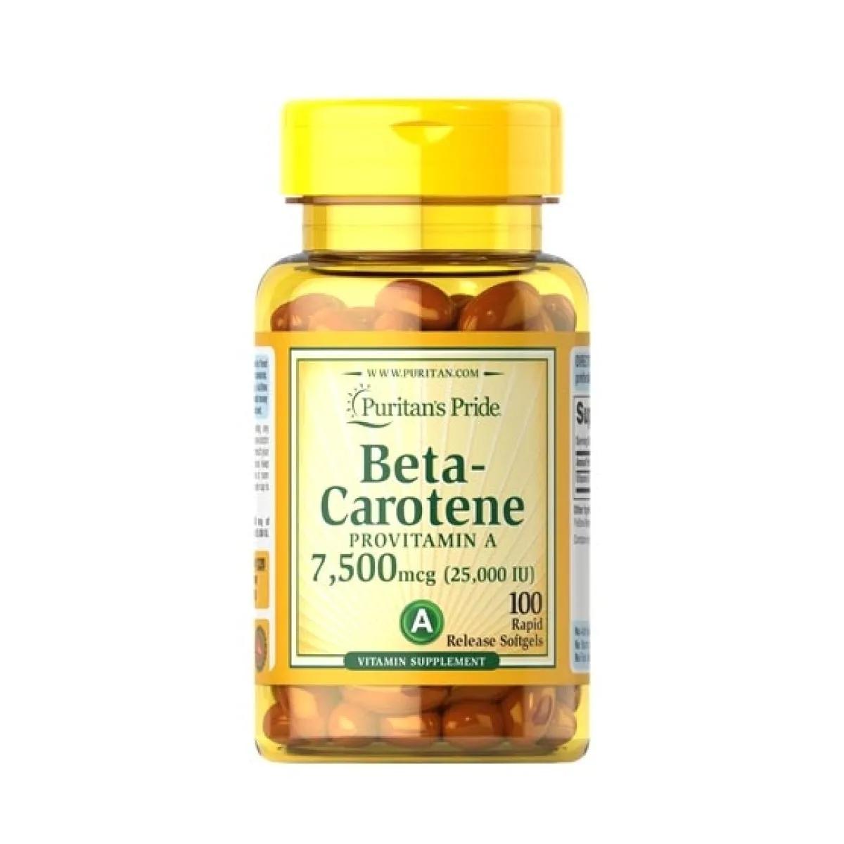 beta carotene supplement