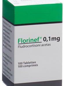 Florinef 0.1 mg Price in Pakistan